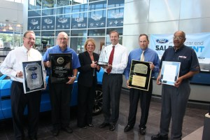 Waldorf Ford was presented with their 5th Triple Crown Award