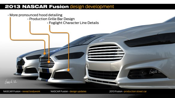 2013-Ford-Fusion-NASCAR-design-development-chronology-side-graphic