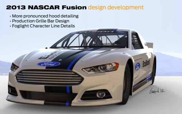 2013-Ford-Fusion-NASCAR-design-development-graphic