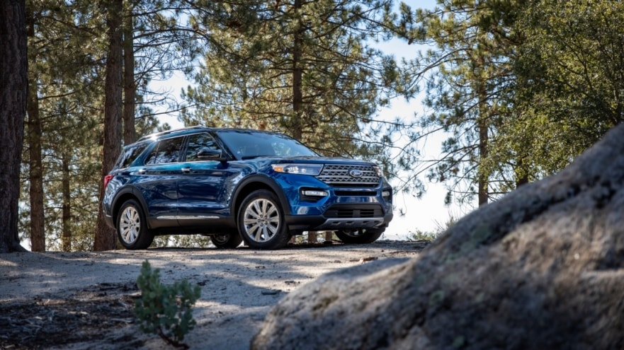 2020 Ford Explorer IIHS Top Safety Pick